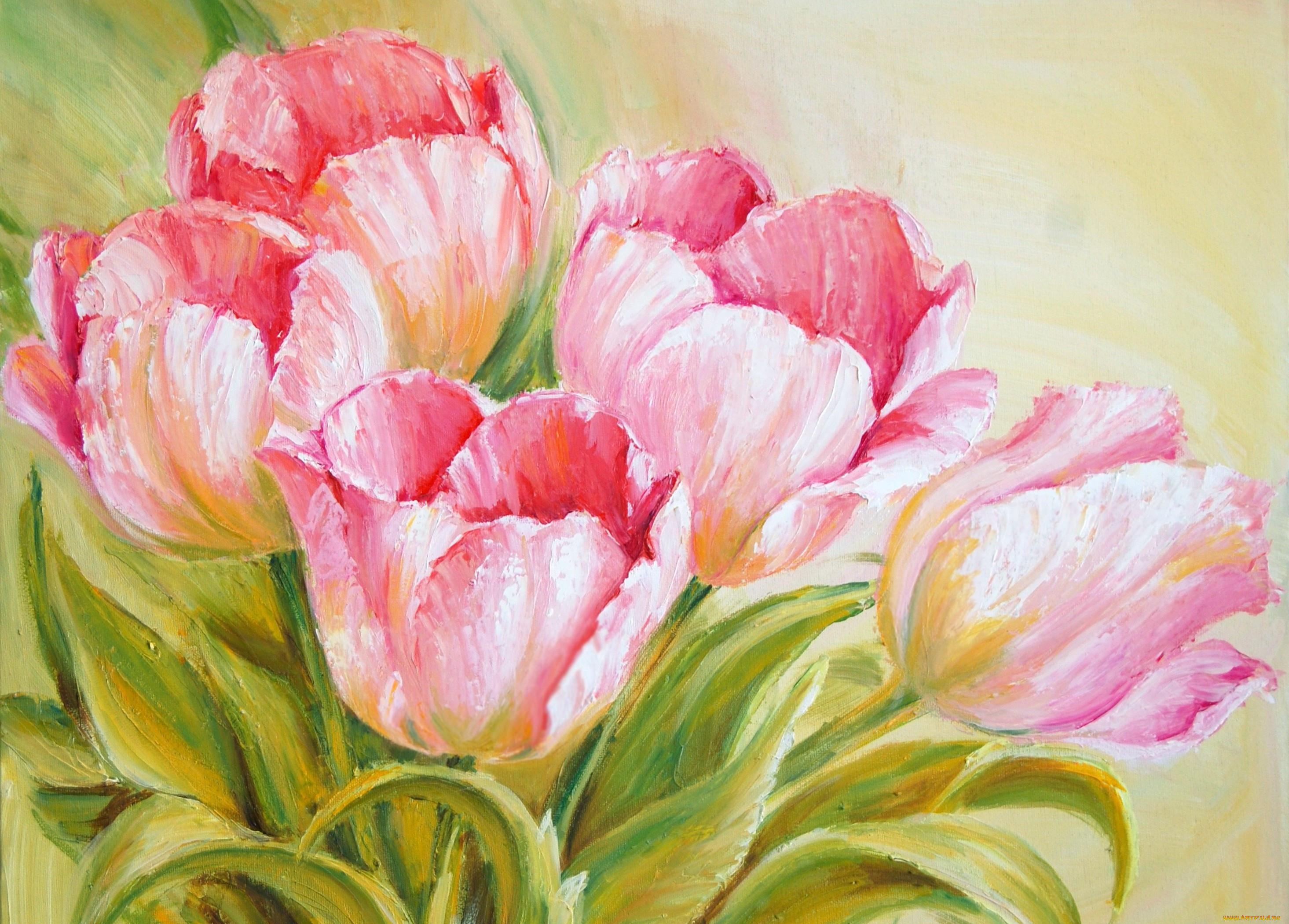 Красивые картинки рисунков цветов